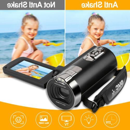 "16X HD 24MP Wifi LED Night View Camera DV 2.7"""