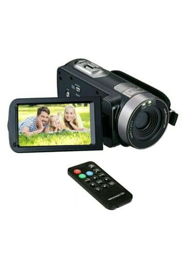 FHD Camcorder 1080p Camera, 24.0MP,
