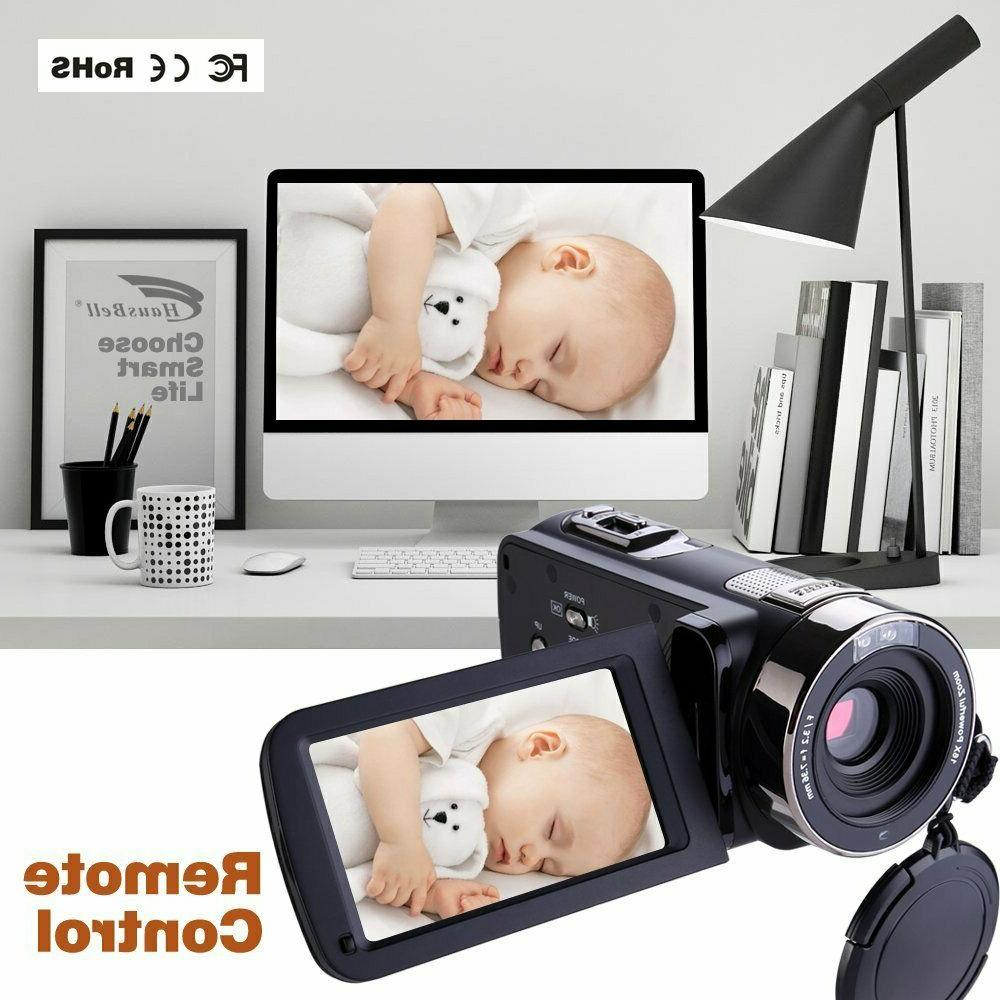 FHD Night 1080p Remote Control Camera Touch