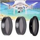 3 Piece Filter Kit PL-ND4-ND8 for DJI Phantom 3 4K, DJI Phan