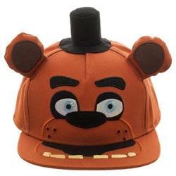 Five Nights At Freddy's Fazbear Plush Snapback Hat