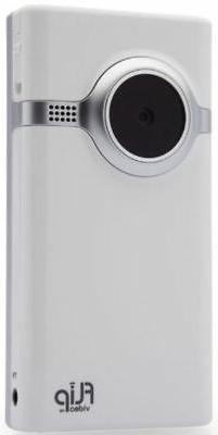 flip mino video camera white 2 gb
