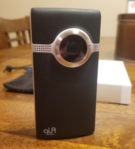 Cisco Flip Video Ultra HD 3 Model U32120 Black 8 GB Camera C
