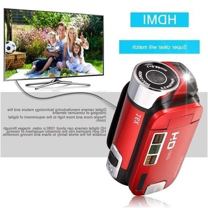 1080P Video Zoom DV Shooting <font><b>HD</b></font> <font><b>Camcorder</b></font> USB