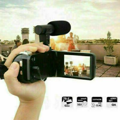 Full Zoom 3'' Digital Camcorder Camera Mic