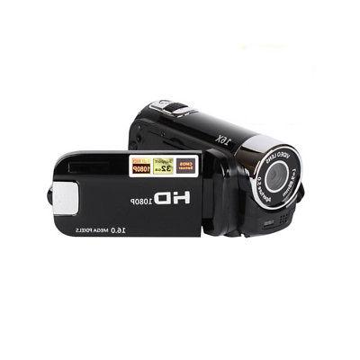 FULL HD 1080P 16MP 16X Digital Video Camera Camcorder Recorder