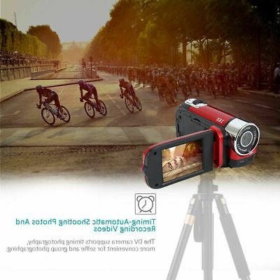 Video Camera Camcorder 1080P Full Vlogging Camera Vision 16X Digital Camera