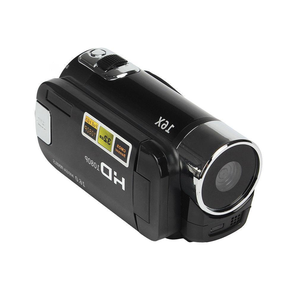 Full HD Digital Camcorder Camera TFT 16X