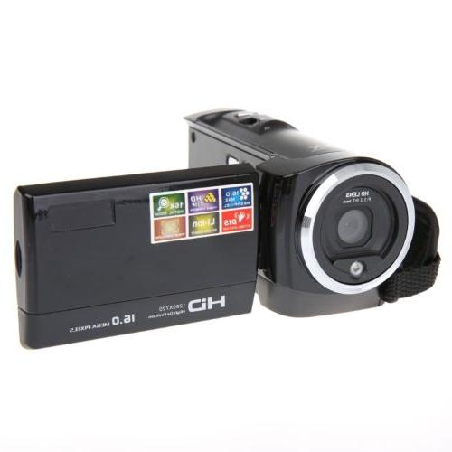 Full HD 1080p 16MP Digital Video Camcorder Camera DV HDMI 2.
