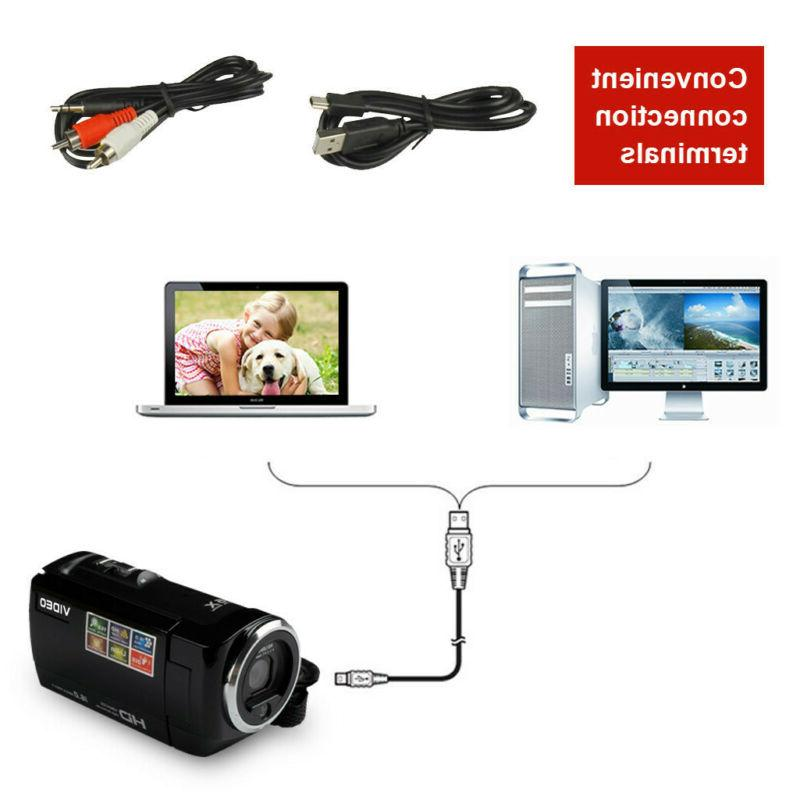 FULL LCD 16X ZOOM Night Vision Video Camera