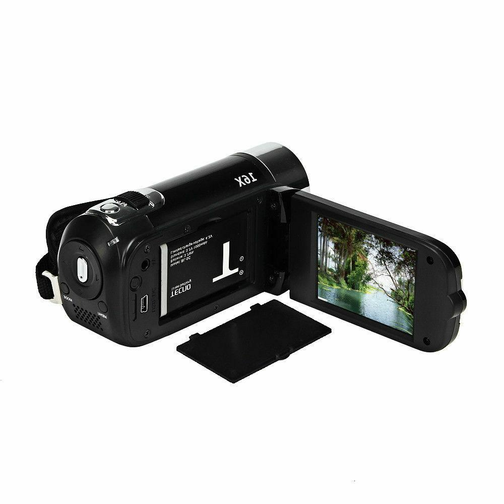 Full 1080P Digital Zoom DV Camcorder 16X 32GB SD/SDHC