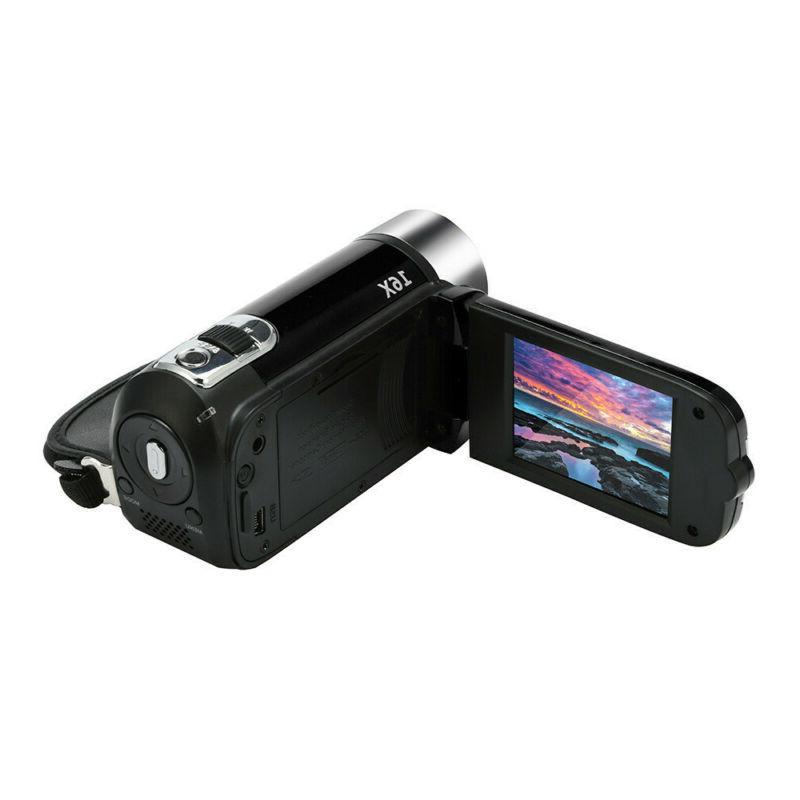 2.7'' 16MP 1080P 16X LCD Digital Zoom DVR