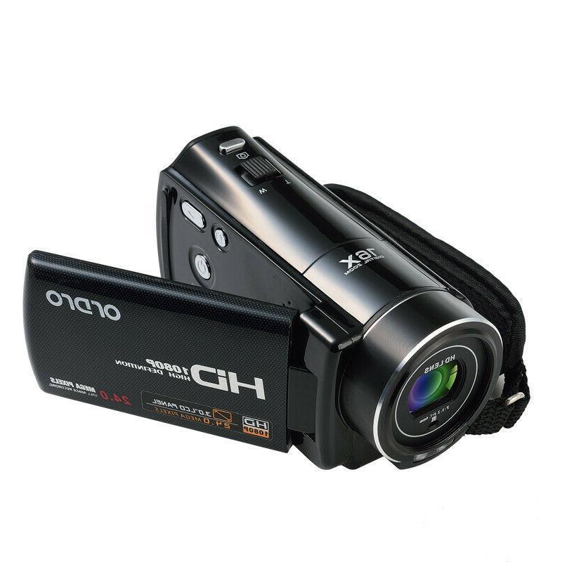FULL HD LCD 16X Vision Digital Video Camera Camcorder