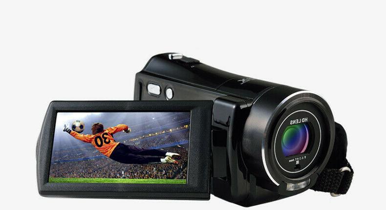 "FULL 3""LCD 18X Night Vision Video Camera"