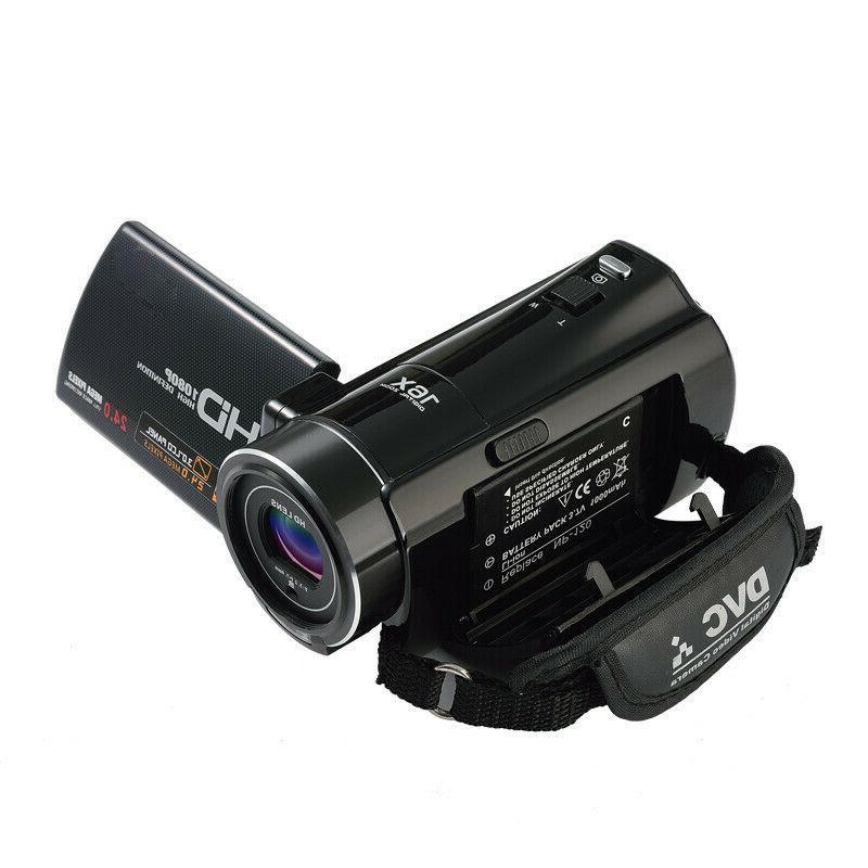 "FULL 3""LCD ZOOM Night Vision Video Camera"