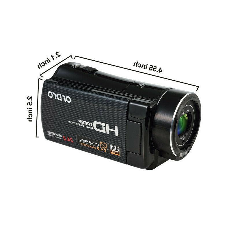 "3""LCD ZOOM Vision Camera Camcorder"
