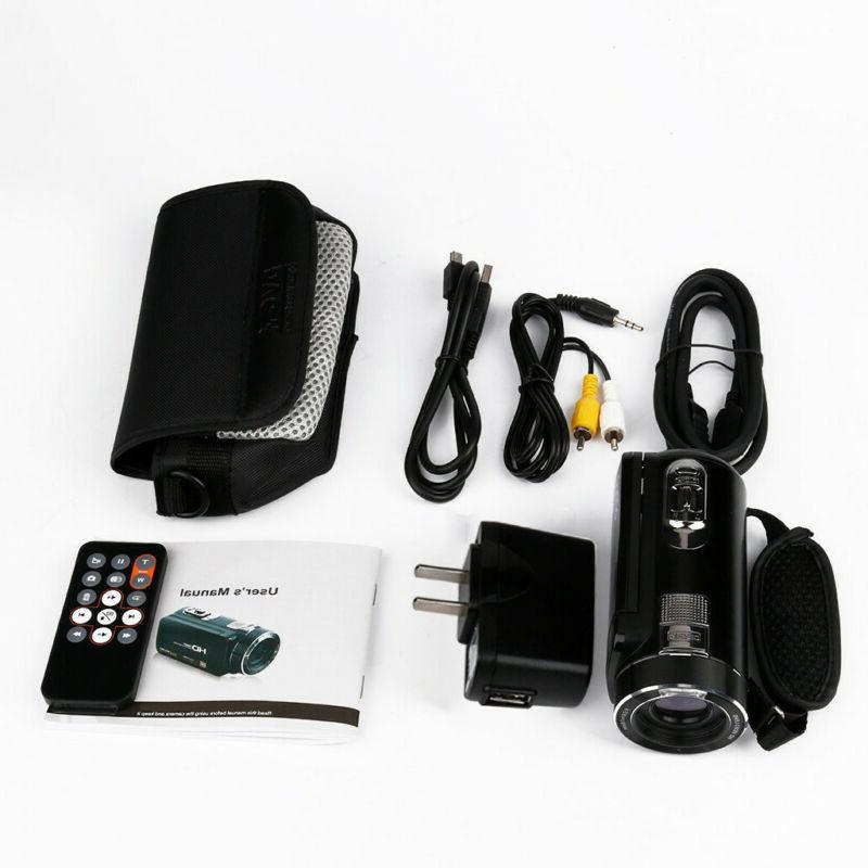 "FULL HD 1080P 24MP 3""LCD Vision Digital Video Camera Camcorder"