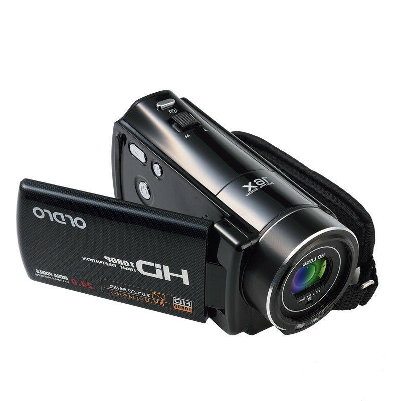 "FULL HD 3""LCD 16X ZOOM Vision Camera Camcorder"