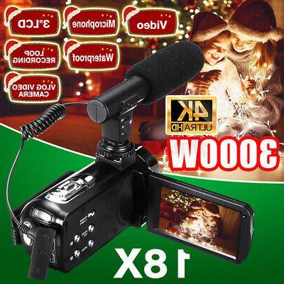 full hd 1080p digital video camera camcorder