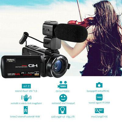 digital video dv camera camcorder full hd