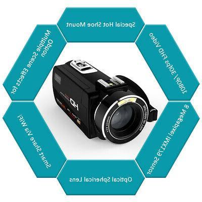 Digital Video DV Camcorder 24MP Vision L5I3