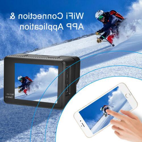 Full HD Action Sport Camcorder DVR 1080P/4K Remote Pro