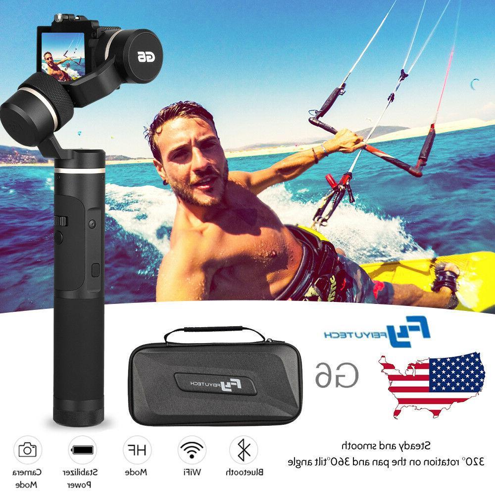 Feiyu G6 3 Axis Splashproof Gimbal Stabilizer WIFI Bluetooth