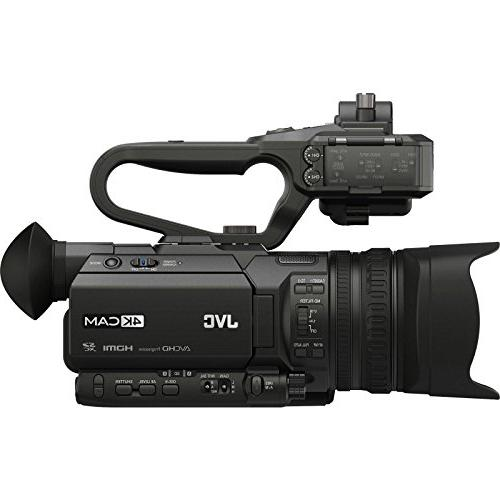JVC HD & Unit with XLR Microphone + Reader +