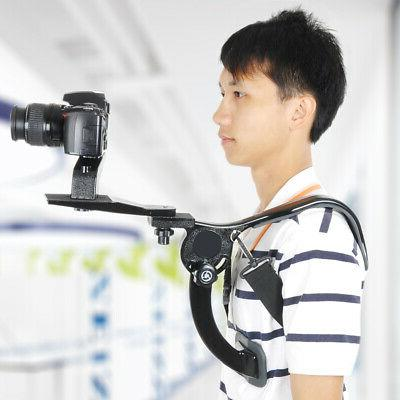 Hands Free Photo Shoulder Mount Support Pad Stabilizer Camco