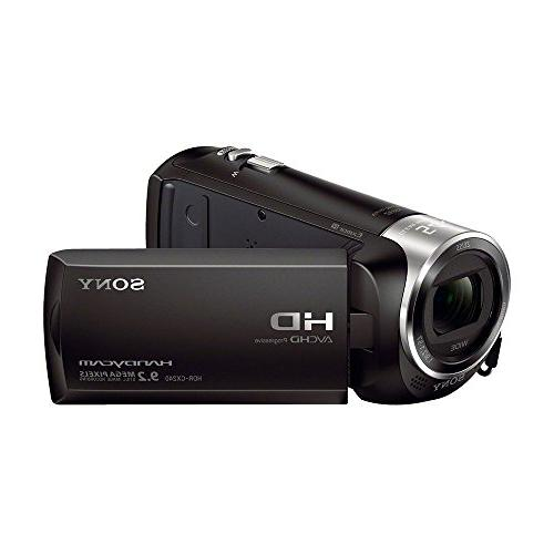 Sony HDRCX405 Video Recording Camcorder Bundle 32GB Mico SD AC/DC Battery Pack, and More