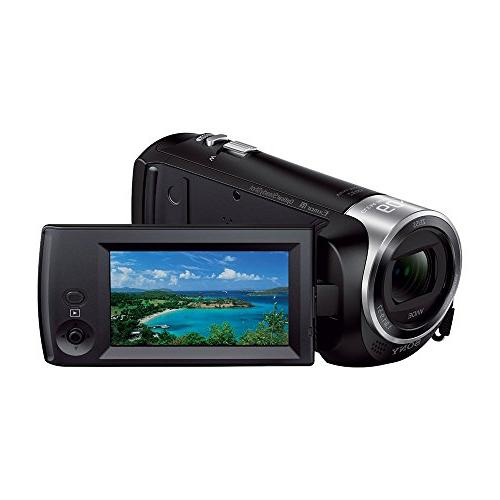 Sony HDR-CX405 CX405 Video Recording Bundle Deluxe 32GB Mico Card, AC/DC Charger, HDMI Battery