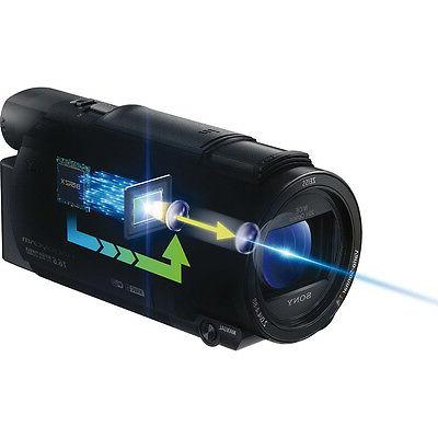 Sony Camcorder - Touchscreen LCD - R CMOS - - Black - 8.3 - XAVC H.264/MPEG-4 AVC, AVCHD, 20x 250x Digital Optical Memory Stick P
