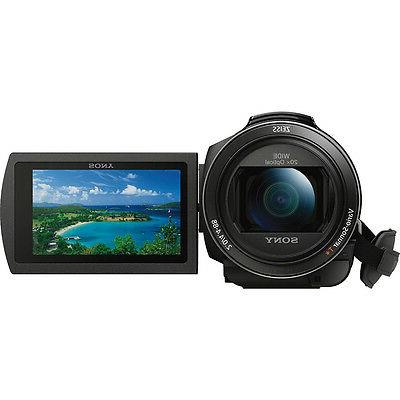 Sony Camcorder Touchscreen LCD - R - 4K - Black - 8.3 - XAVC H.264/MPEG-4 AVC, 20x Optical 250x Digital Zoom - Optical - USB SDHC, SDXC, Memory Stick P