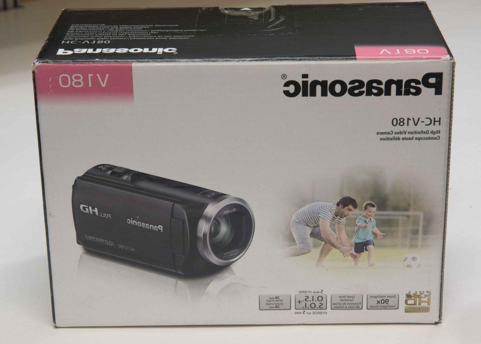 Panasonic HC-V180K Full HD Camcorder USA version