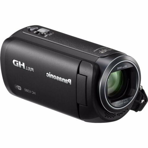 Panasonic HC-V380 Wi-Fi HD Video Camera Camcorder Wireless S