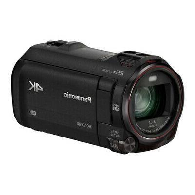 Panasonic HC-VX981K 4K Ultra HD Camcorder with Wi-Fi, Twin C