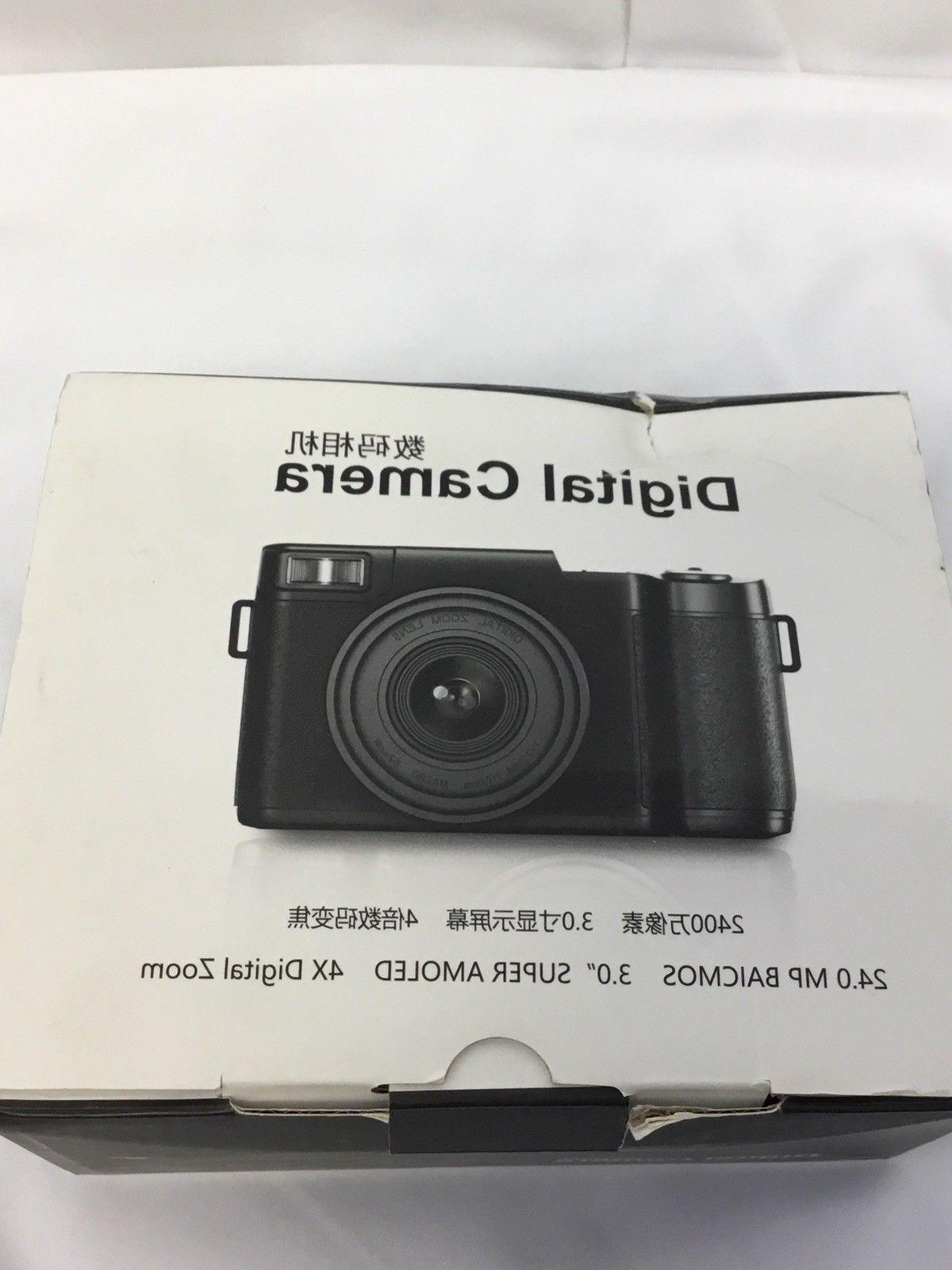 SEREE HD Camcorder Full HD 24.0 Megapixels Zoom