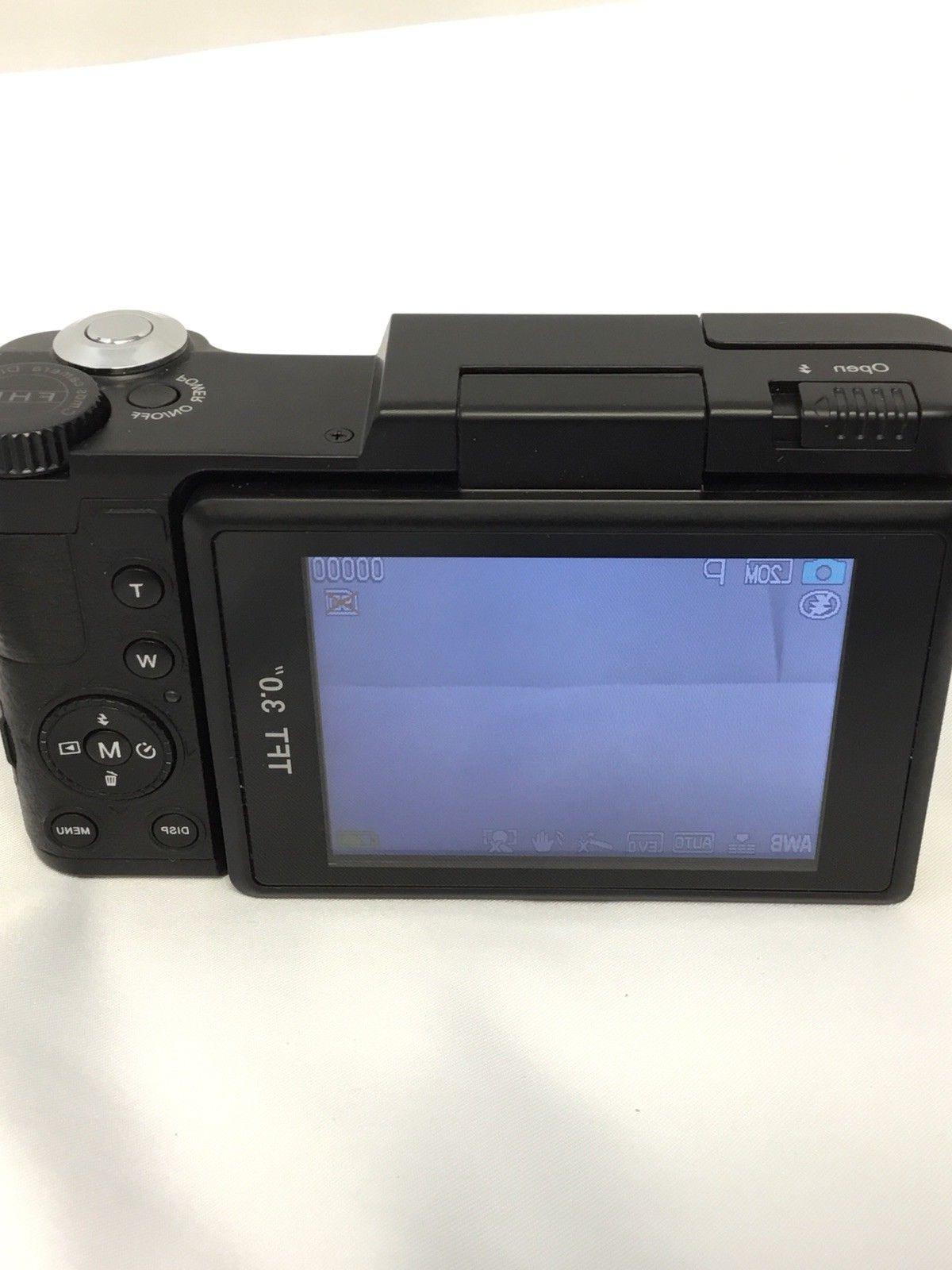 SEREE Digital Camera Camcorder Full 24.0 Zoom