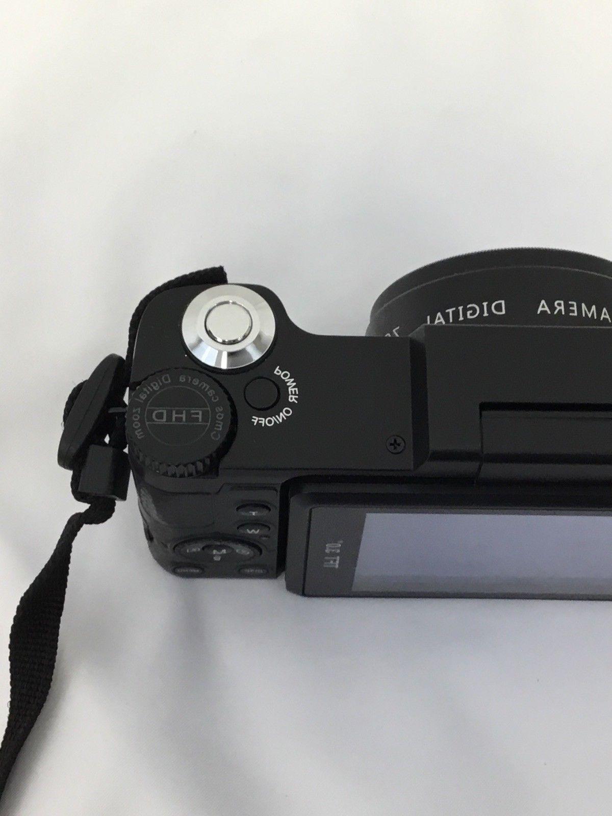 SEREE Camcorder Full 24.0 4x Zoom