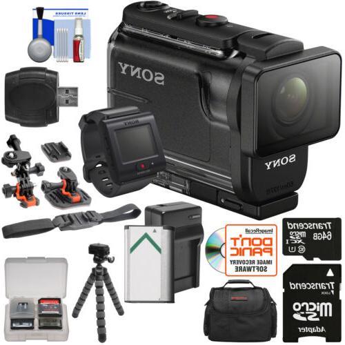 Sony HDR-AS50R - Exmor CMOS - HD Black - 11.1 Megapixel Video - MP4, AVC, S - USB microSDHC, microSDXC, Memory - Card Tripod Mount