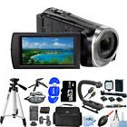 Sony HDR-CX455 Full HD Handycam Camcorder W/ 8GB Internal Me