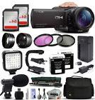 Sony HDR-CX900 HD Professional Camcorder Video Camera + 128G