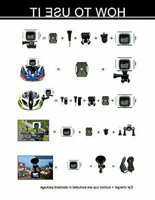 SEREE HDV-26-BLACK 4K Camcorder WIFI
