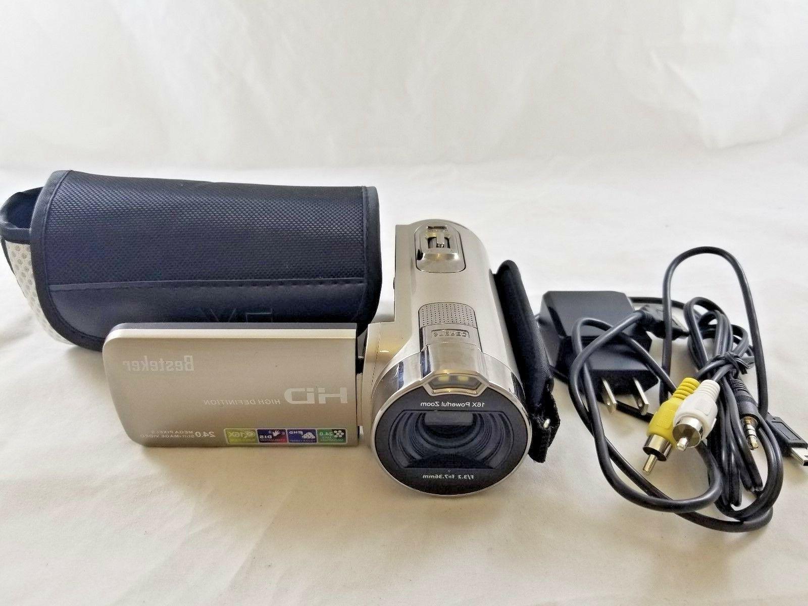 Besteker Full HD Camcorder GOLD
