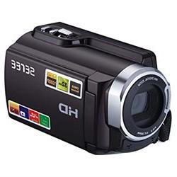 Sereer HDV-501 FHD 1080P Camcorders WIFI Connection 60FPS Du