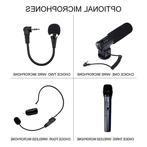 SEREE HDV-520 External Microphone Input FHD 24.0MP Screen 16X Digital Camera Recorder