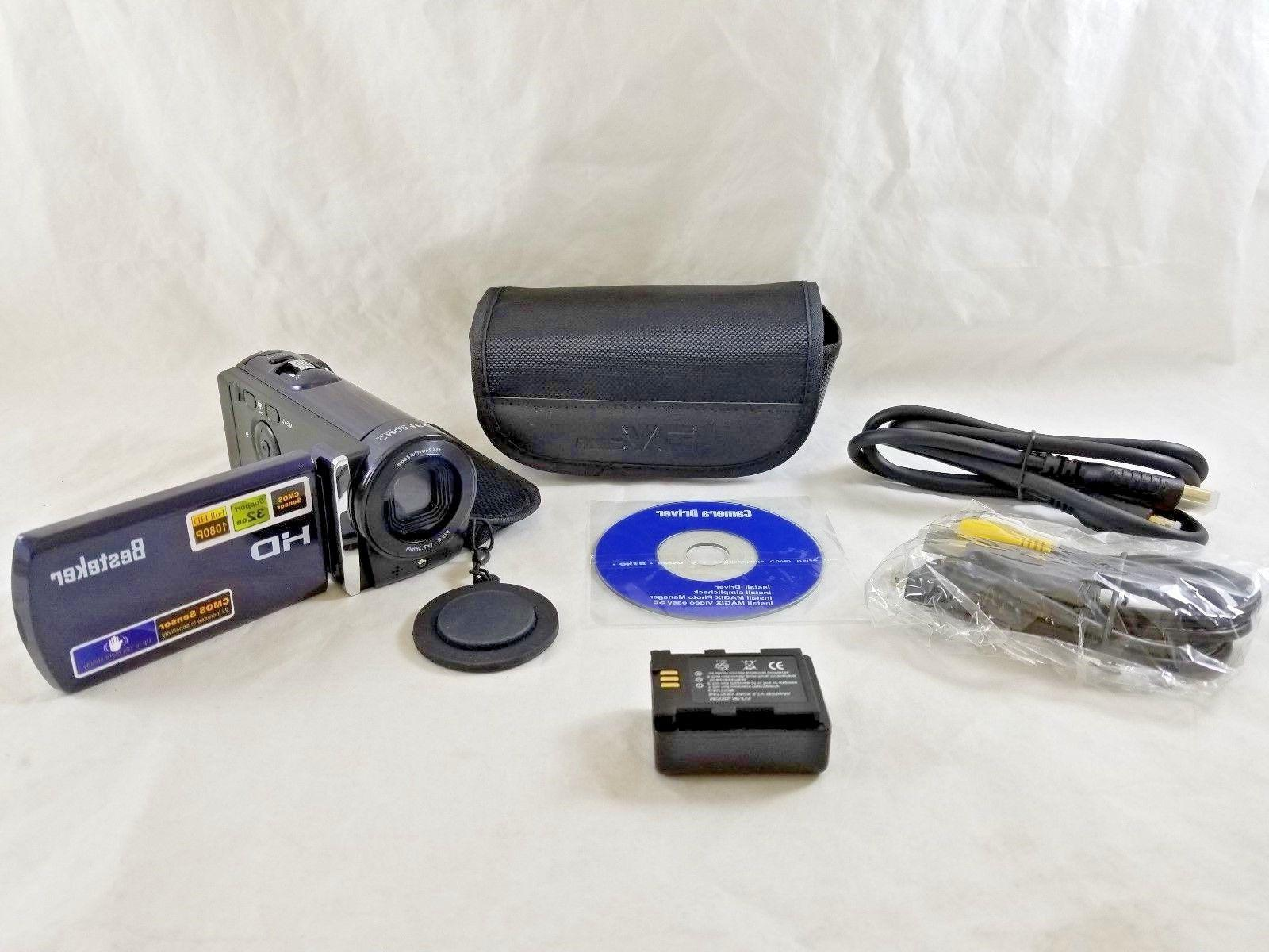 hdv 601s video camcorder 1080p 20mp lcd