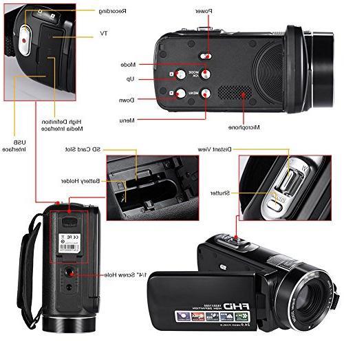SEREE Video 24MP Digital Beauty Face Camera Output
