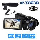 """ORDRO HDV-Z20 1080P 3.0"""" LCD WIFI Digital Video Camera Camco"""
