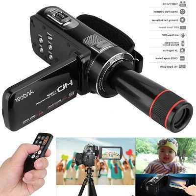 Andoer HDV-Z8 1080P Full HD Digital Video Camera Camcorder w